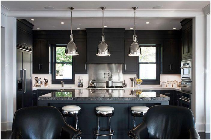Интерьер кухни от LDa Architecture & Interiors