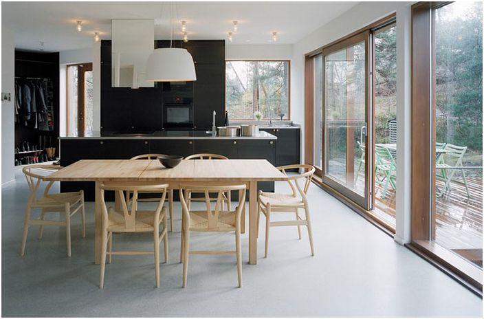 Интерьер кухни от Kjellander + Sjöberg Architects