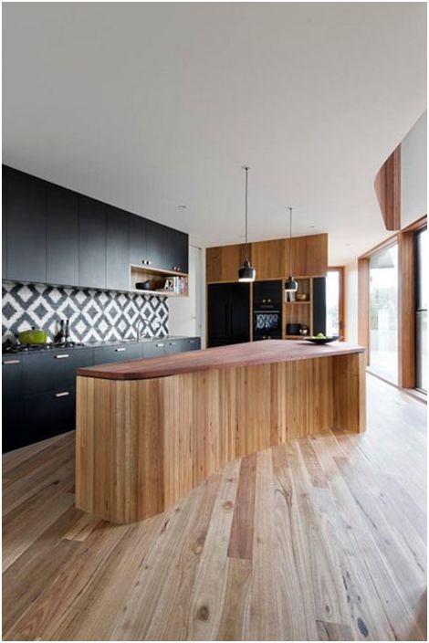 Интерьер кухни от Auhaus Architecture