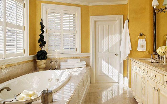 Традиционная ванная с элементами викторианского стиля