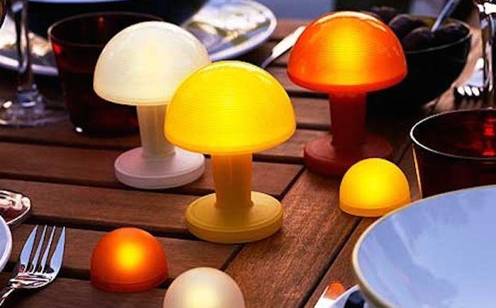 Осветление на маса