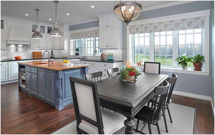 Советы дизайнера: 4 способа оживить совершенно белый дизайн кухни