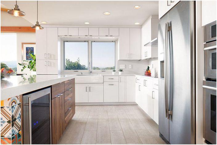 Интерьер кухни от Melton Design Build