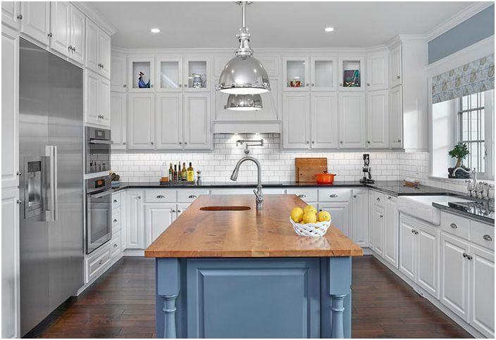 Интерьер кухни от Effect Home Builders