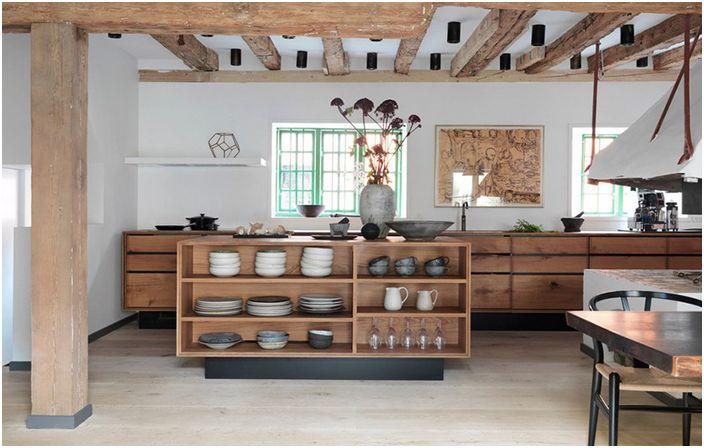 Интерьер кухни от Garde Hvalsoe