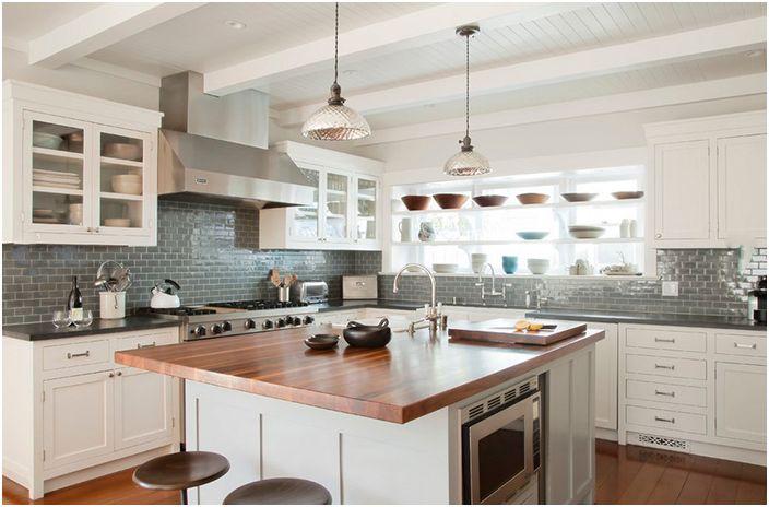 Интерьер кухни от Evens Architects
