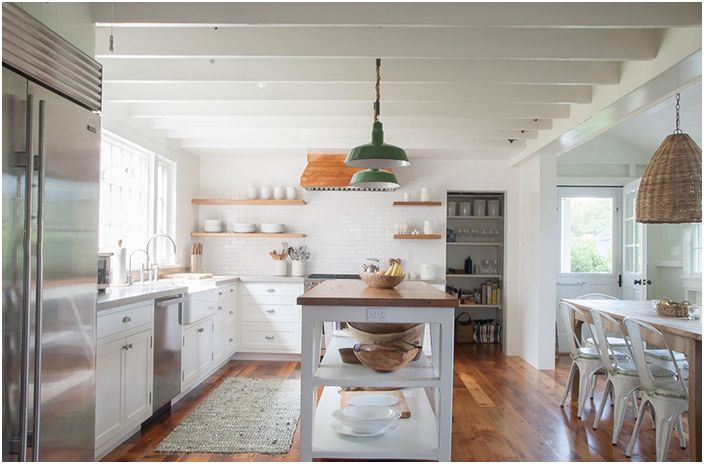 Интерьер кухни от allee architecture + design