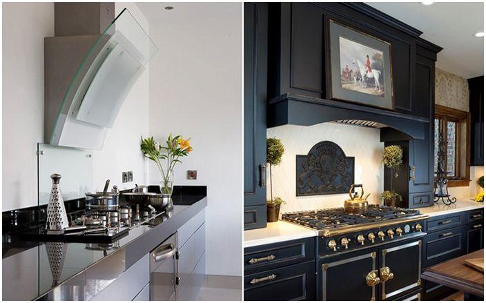 Съвети на дизайнера: коя качулка за кухня да изберете и как да я инсталирате правилно