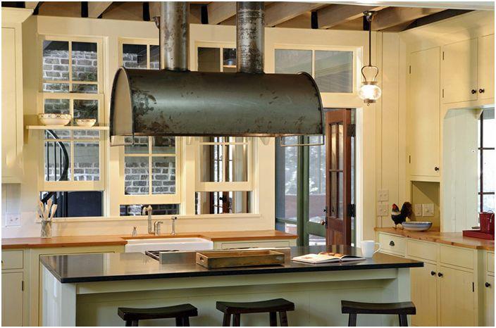 Кухненски интериор от исторически концепции