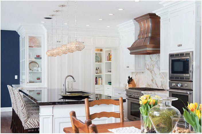 Кухненски интериор от Texas Lightsmith