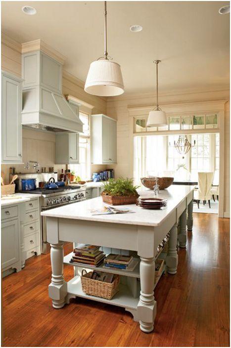 Кухненски интериор от нашите градски планове