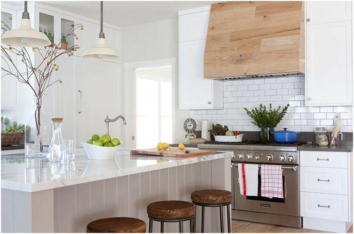 Кухненски интериор от Кейт Лестър Интериор