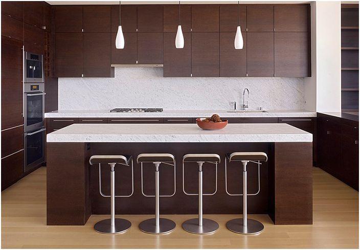 Кухненски интериор от John Maniscalco Architecture