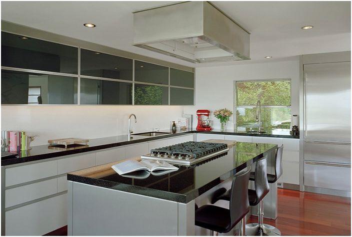 Кухненски интериор от Garret Cord Werner Архитекти и интериорни дизайнери