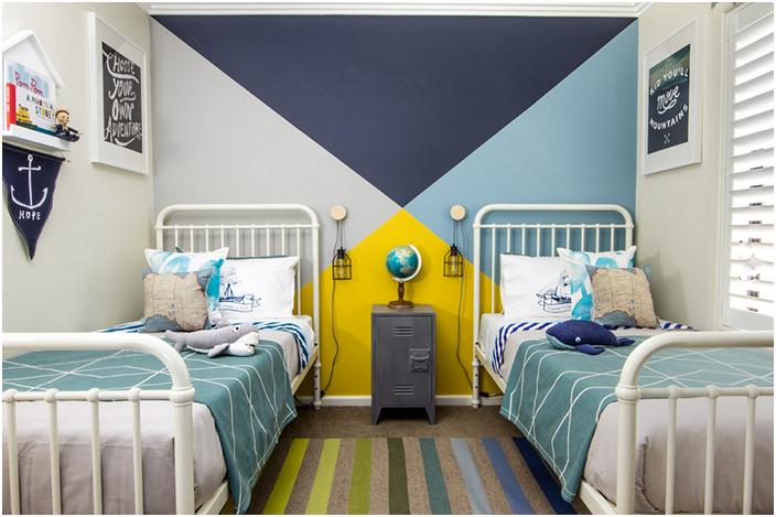Интериор на спалнята от Young Folk