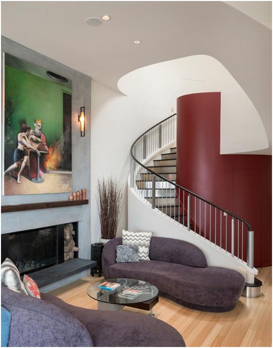Wnętrze autorstwa Hughes Studio Architects