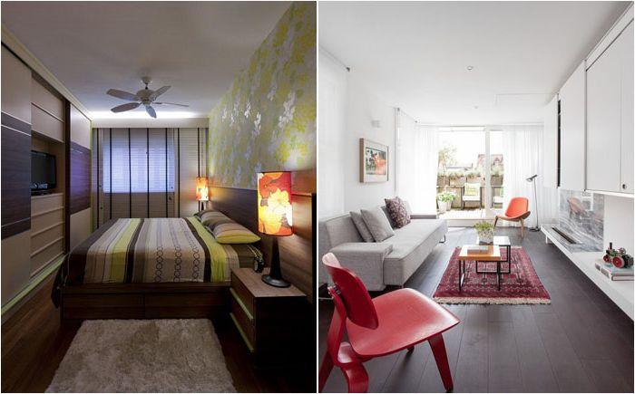 Wskazówki projektowe dotyczące dekoracji długiego, wąskiego pomieszczenia