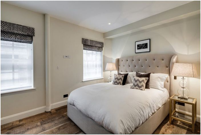 Еклектична спалня