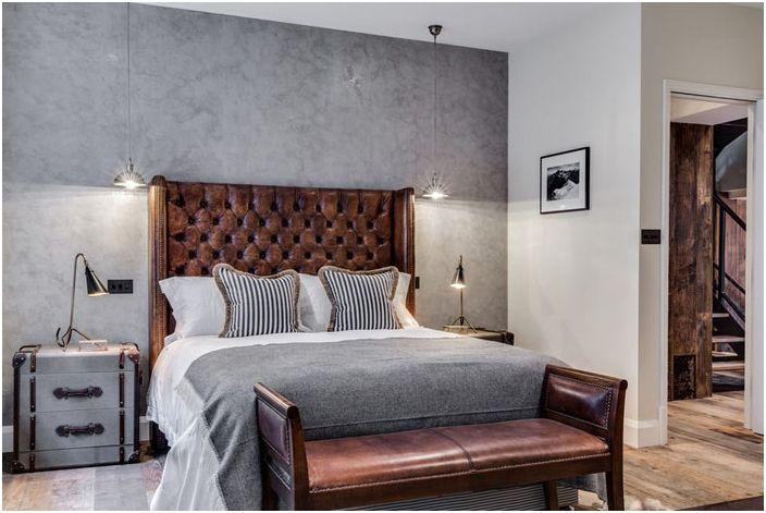 Спальня в эклектичном стиле