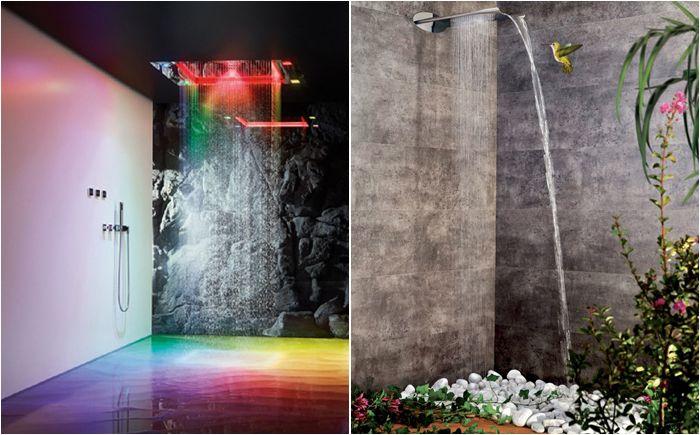 Modernit kokoelmat alkuperäisistä suihkupääistä