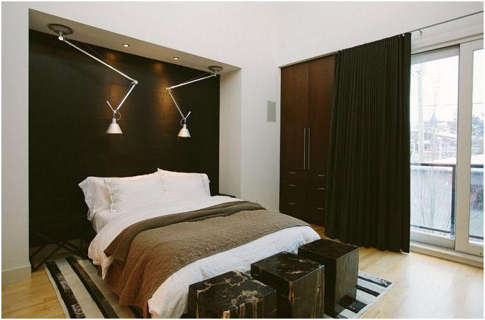 Елегантна мъжка спалня