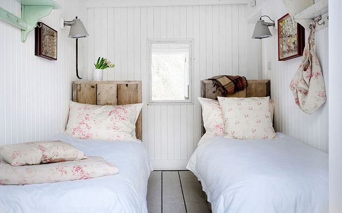 Интерьер спальни от Cabbages & Roses