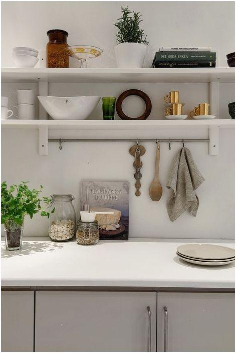 Стильное хранение на кухне