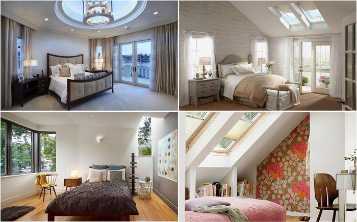 Chambres élégantes avec puits de lumière