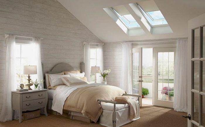 Chambre romantique par Velux