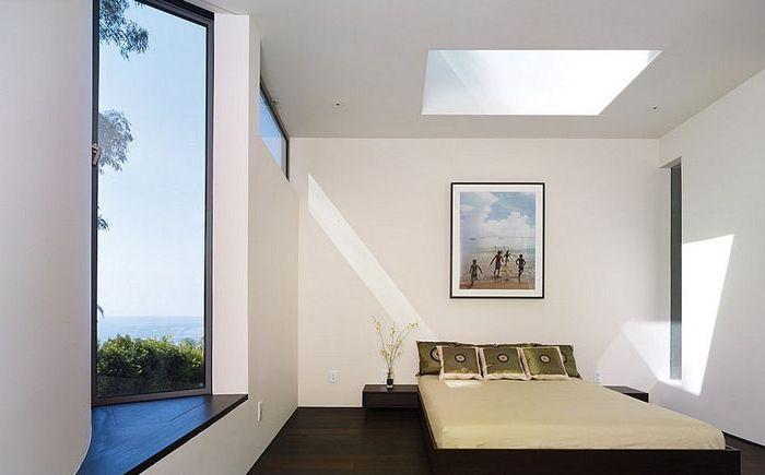 Chambre avec puits de lumière par Griffin Enright Architects