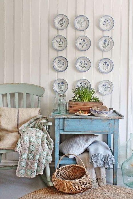 Коллекция бабушкиных тарелок