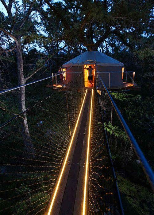 Lofthaven II est une maison construite à une hauteur de 12 mètres.