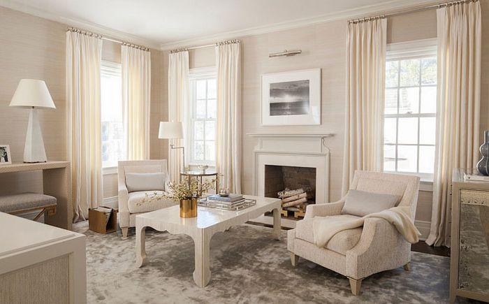 Элегантная гостиная от S. B. Long Interiors