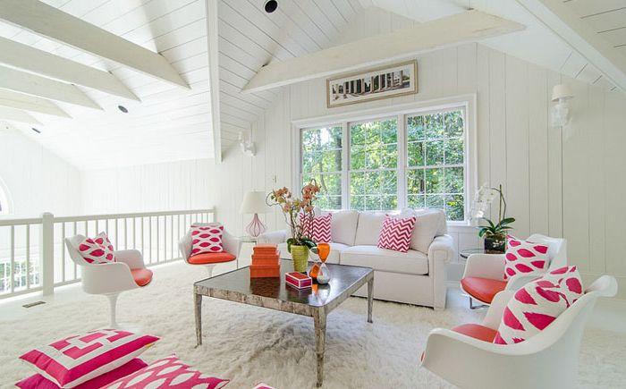 Бело-розовый декор от Virtual Studio Innovations