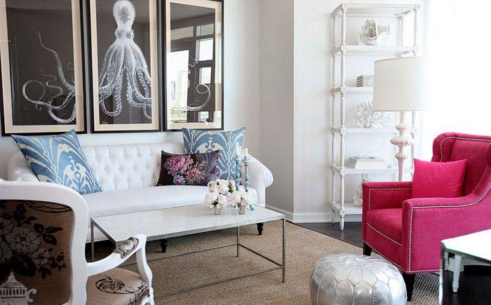 Маленькая гостиная от Cross Interior Design