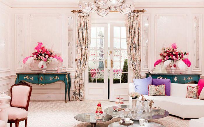 Гостиная в царском стиле