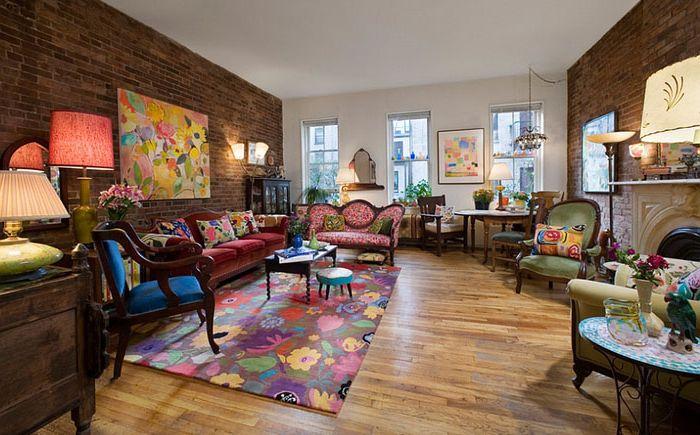 Яркая гостиная от Kim Parker Interiors