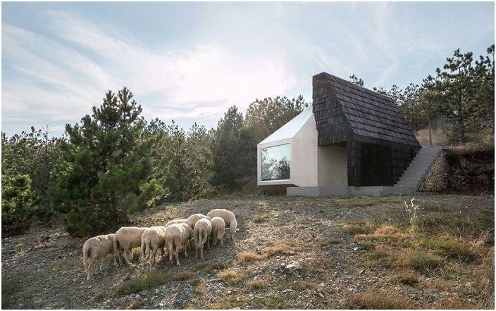 Жилищна сграда в сръбския курорт Дивчибаре.