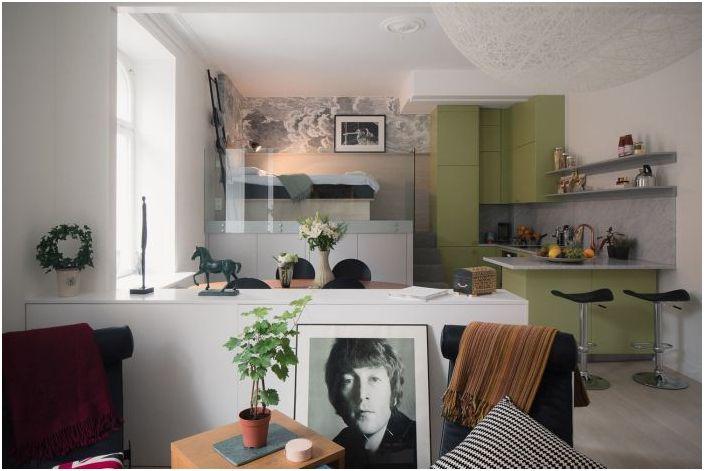 Малък апартамент 44 квадратни метра