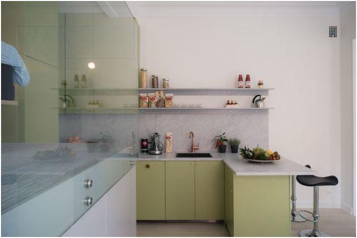 Красивая и стильная кухня