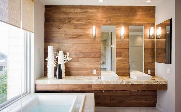 Drewno we wnętrzu autorstwa Mark Brand Architecture