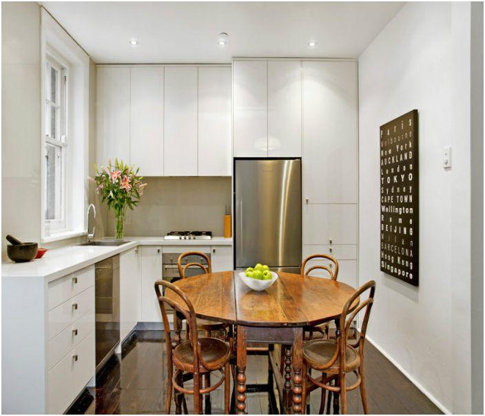G (L) -formet kjøkken