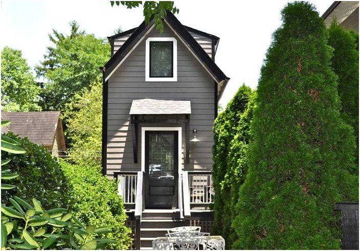 Къща под наем от онлайн услугата Airbnb.