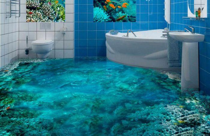 Korallrevgulv