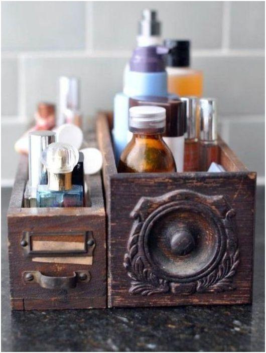 Стильное хранение шампуней