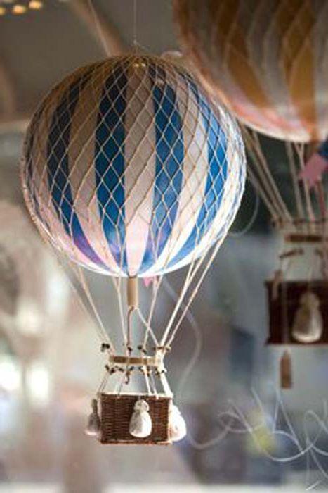 Балон със собствените си ръце.