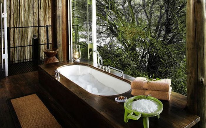 Всем на зависть: роскошные ванные комнаты с прекрасным панорамным видом