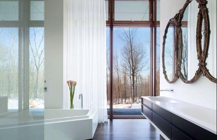 Интерьер ванной комнаты от William Reue Architecture