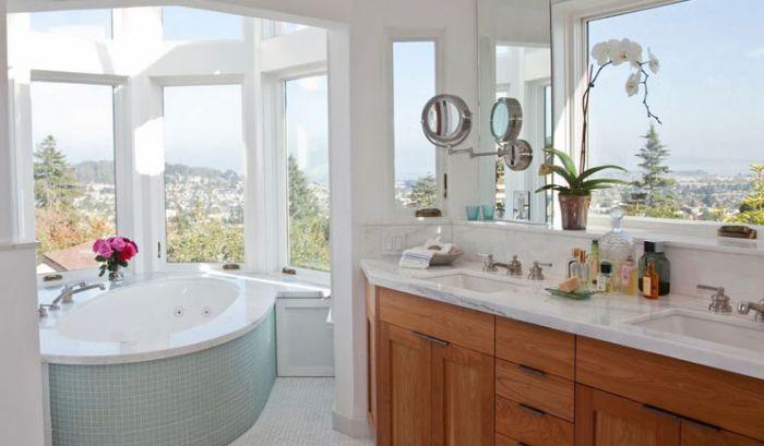Интерьер ванной от MuellerNicholls Builders