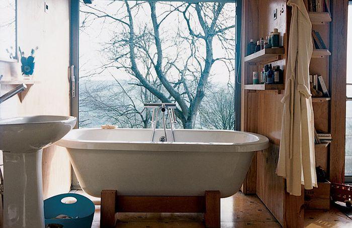 Интериор на банята от Пиърс Тейлър